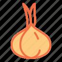 food, garlic, health, pizza, vegetable icon
