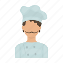 baker, cap, chef, cook, cooking, kitchen, profession icon