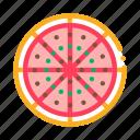 cuisine, cut, food, pizza, restaurant, slice icon