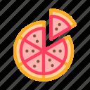 de, fast, food, pizza, restaurant, slice