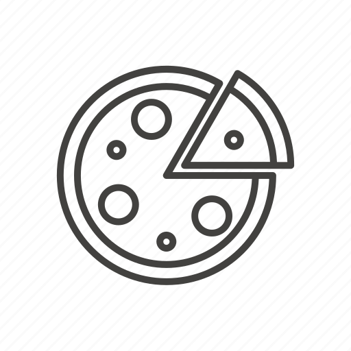 food, italian, meal, pizza, pizzeria, restaurant, slice icon
