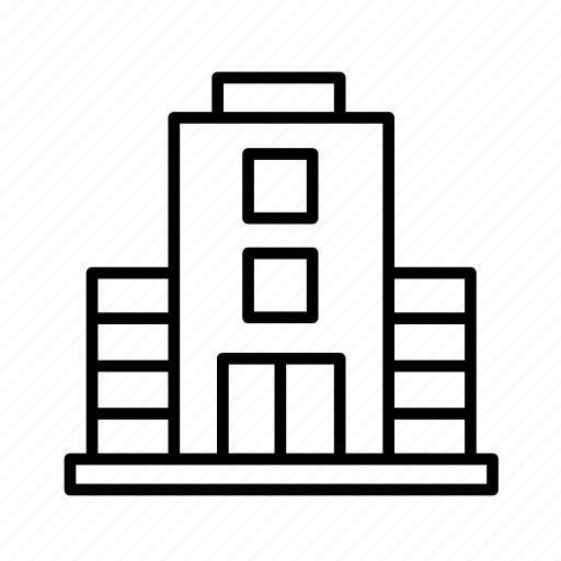 building, building002, hotel, office, real estate, tower icon