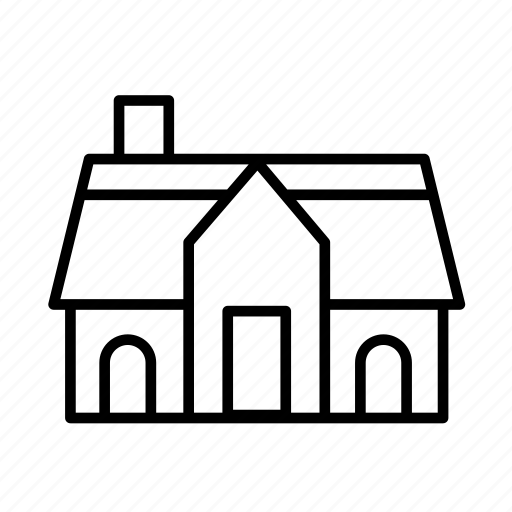 estate, estate001, house, property, residential, villa icon