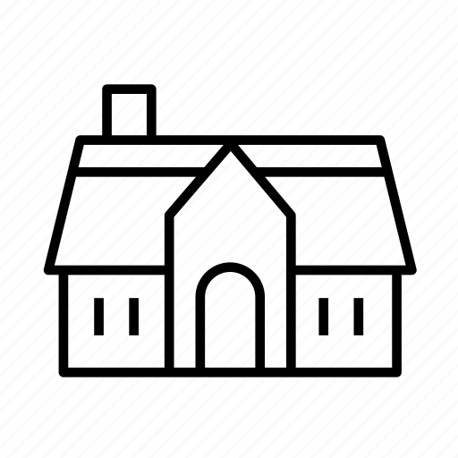estate, estate003, house, property, residential, villa icon