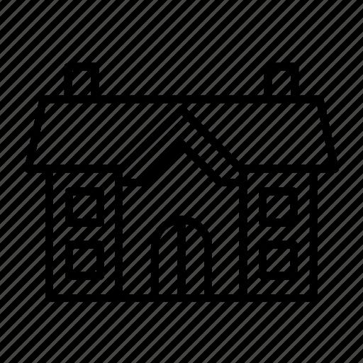 estate, estate005, house, property, residential, villa icon