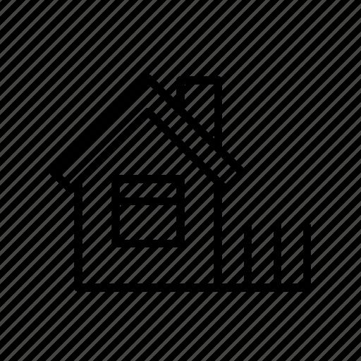 building, farm house, farmhouse001, home, house, rural icon