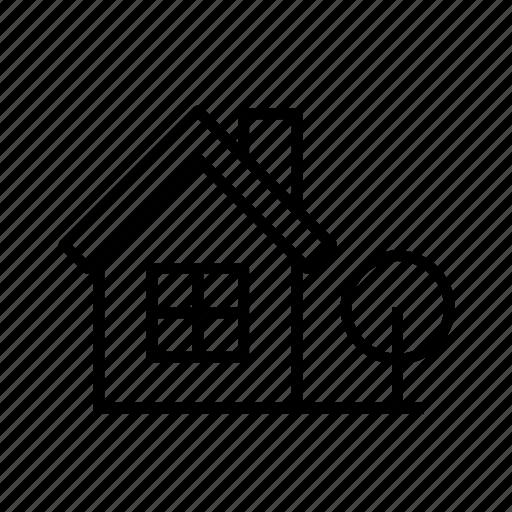 building, farm house, farmhouse005, home, house, rural icon