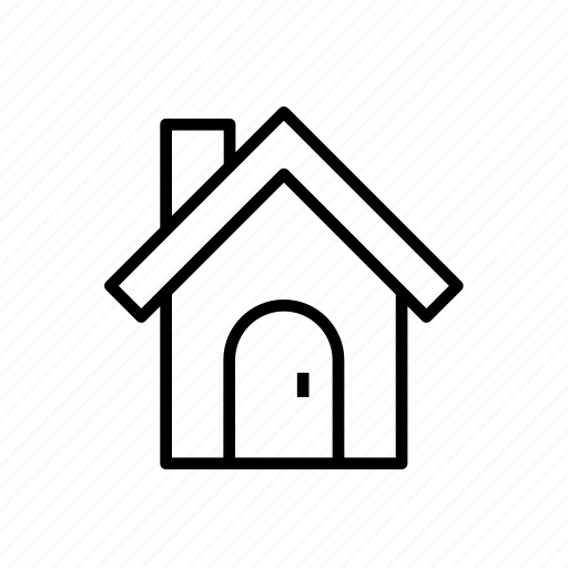 building, estate, home, house, house007, residential icon
