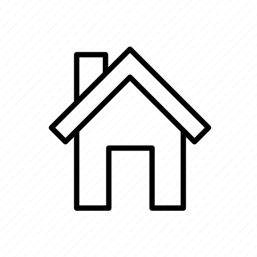 building, estate, home, house, house009, residential icon