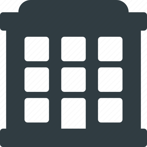 Apartment, architecture, block, building, landmark, place icon - Download on Iconfinder