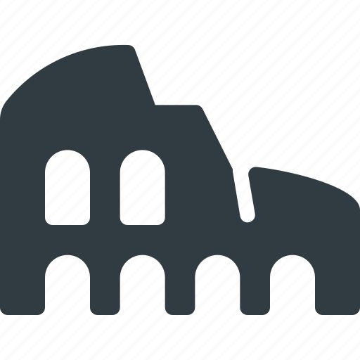Architecture, building, colosseum, landmark, place icon - Download on Iconfinder