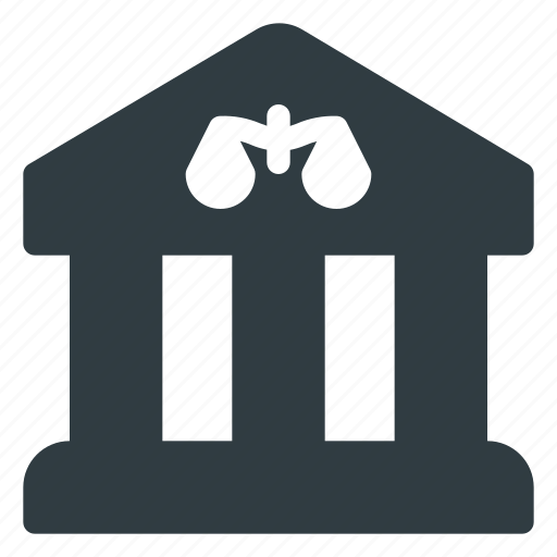 architecture, building, court, landmark, place icon