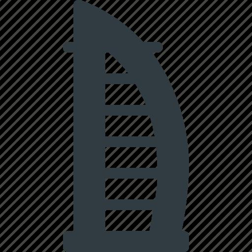 Architecture, building, burj, dubai, kalifa, landmark, place icon - Download on Iconfinder