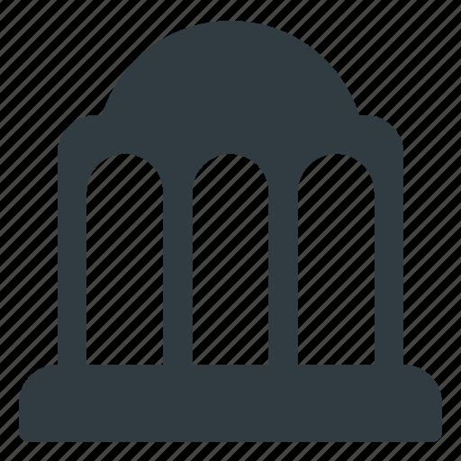 Building, landmark, place, architecture, government icon