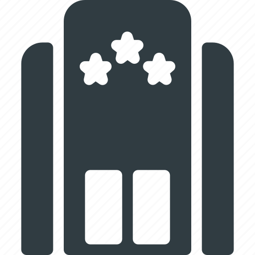 Architecture, building, hotel, landmark, place icon - Download on Iconfinder