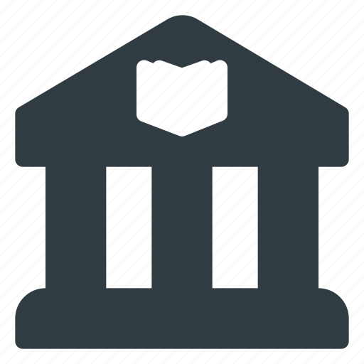 architecture, building, landmark, library, place icon
