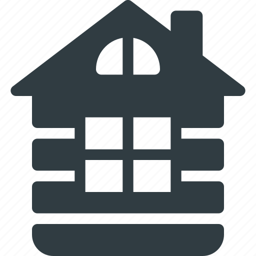 Architecture, building, house, landmark, loghouse, place, wood icon - Download on Iconfinder