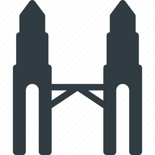 Architecture, building, landmark, petronas, place icon - Download on Iconfinder