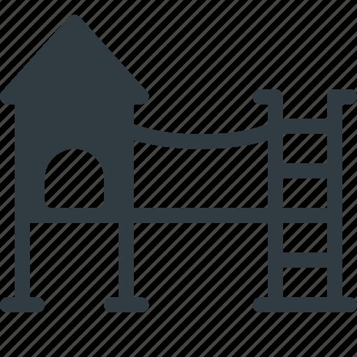 architecture, building, landmark, place, playground icon
