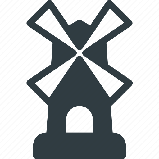 Architecture, building, landmark, place, windmill icon - Download on Iconfinder