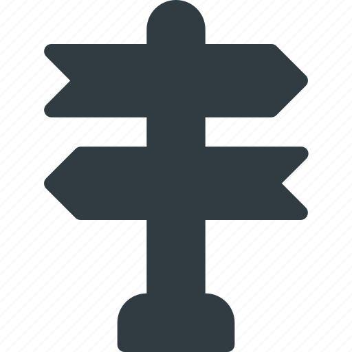 Crossroad, landmark, place, road, sign icon - Download on Iconfinder
