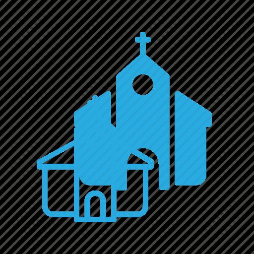 architecture, building, church, landmark, place icon