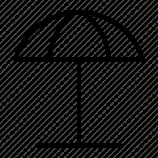 access, beach, parasol, umbrella icon