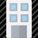 apartment, architecture, block, building, landmark, place