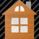 architecture, building, house, landmark, loghouse, place, wood