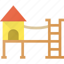 architecture, building, landmark, place, playground icon