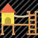 architecture, building, landmark, place, playground