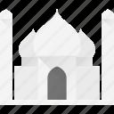architecture, building, landmark, mahal, place, taj icon
