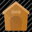 building, dog, house, landmark, place icon