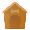 building, dog, house, landmark, place