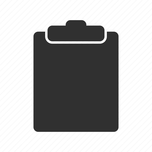 clipboard, files, notes, papers icon