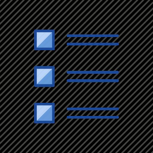 board, checklist, notes, organize icon