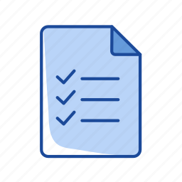 checklist, list, notes, organize icon