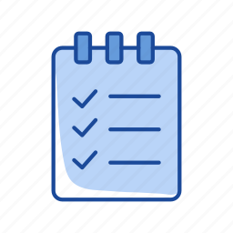 board, checklist, list, notes icon