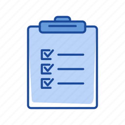 checklist, list, notes, organize icon