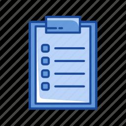 board, checklist, list, organize icon
