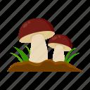farm, forest, harvest, mushroom, plant icon
