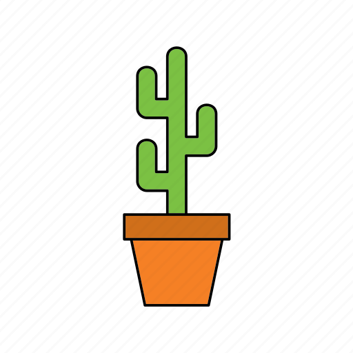 cactus, decor, flora, home, houseplant, nature, plant icon