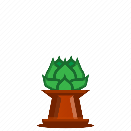 plants, potted plant, succulent, trees icon