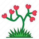 flower, plants, succulent, trees icon