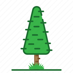 plants, succulent, trees, triangle icon