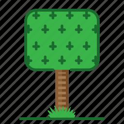 plants, square, succulent, trees icon