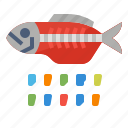 eco, fish, plastic, pollution icon
