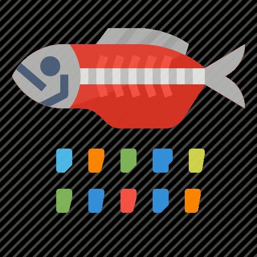 eco, fish, plastic, pollution icon
