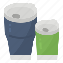 cup, ecology, mug, reusable icon