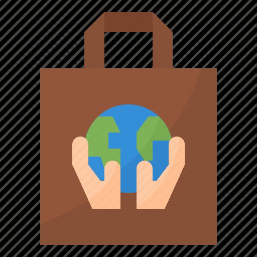 bag, eco, reusable, tote icon